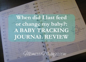 baby tracking journal
