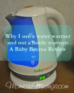 Baby Brezza Water Kettle Review