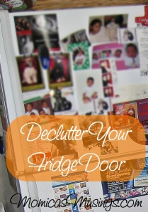 Declutter Your Fridge Door